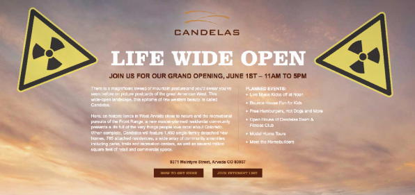 Candelas announces the Grand Opening for its Superfund location.