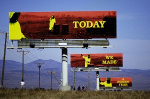 John Freeman's Billboard art