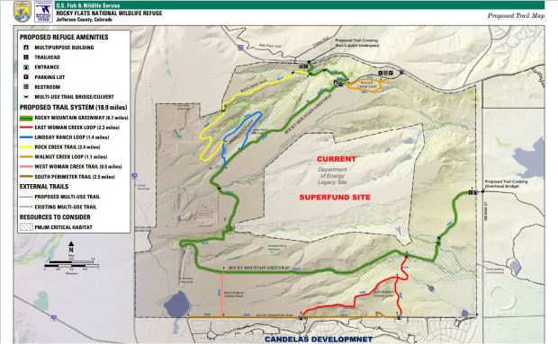 Proposed trail map 8.2018
